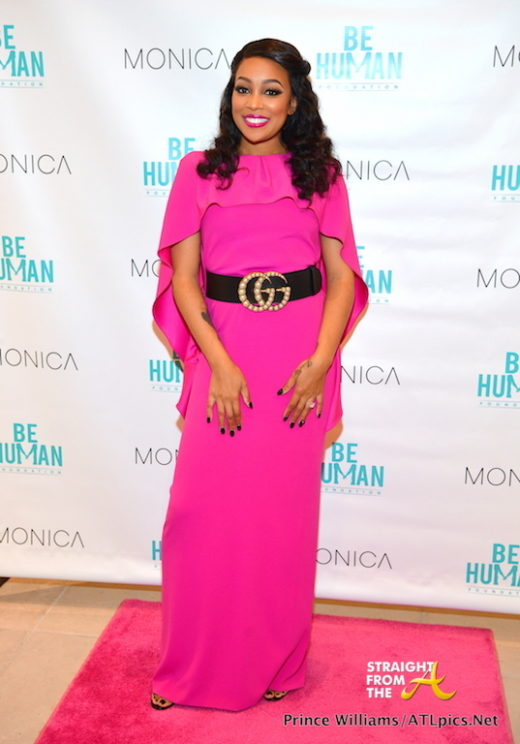 "Monica Brown Launches ""Be Human"" Foundation, Donates $5,000 To Cancer Survivor… (PHOTOS)"