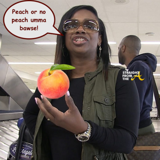 Jackhole of the Day?!? Kandi Burruss' #RHOA Peach Might Be In Jeopardy…