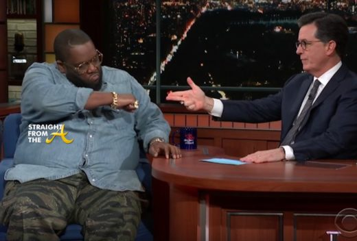 WATCH THIS!! Killer Mike Discusses #TriggerWarning on The Late Show… (VIDEO) #WithNoDueRespect
