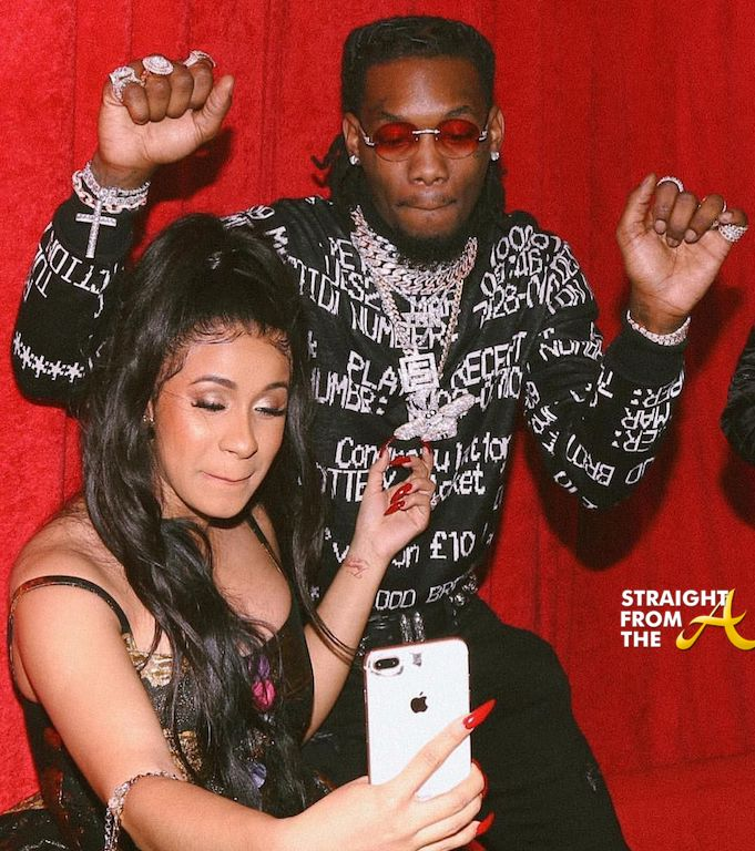 Cardi B & Offset 'Buy The Block'… LITERALLY! Couple