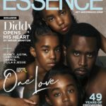 Diddy & Daughters Cover ESSENCE + Star Reveals How Kim Porter's Death Changed Him As A Father…