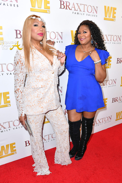Celebs Attend WEtv's 'Braxton Family Values' Season 6 ...