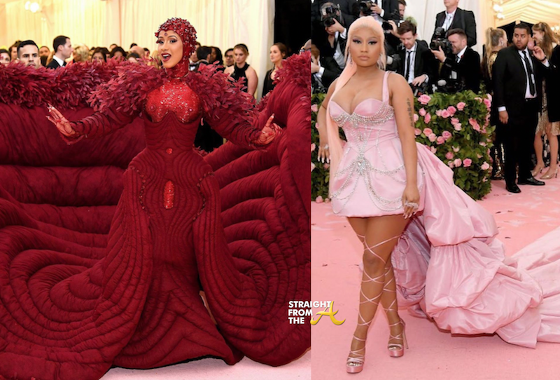 Cardi B Nicki Minaj Met Gala 2019 Straight From The A Sfta
