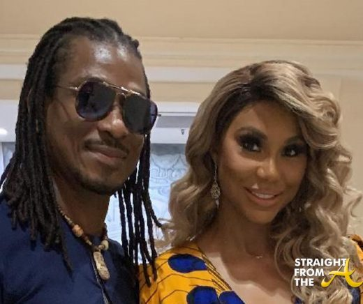 Tamar Braxton's New Man (David Adefeso) Posts Open Letter of Devotion…