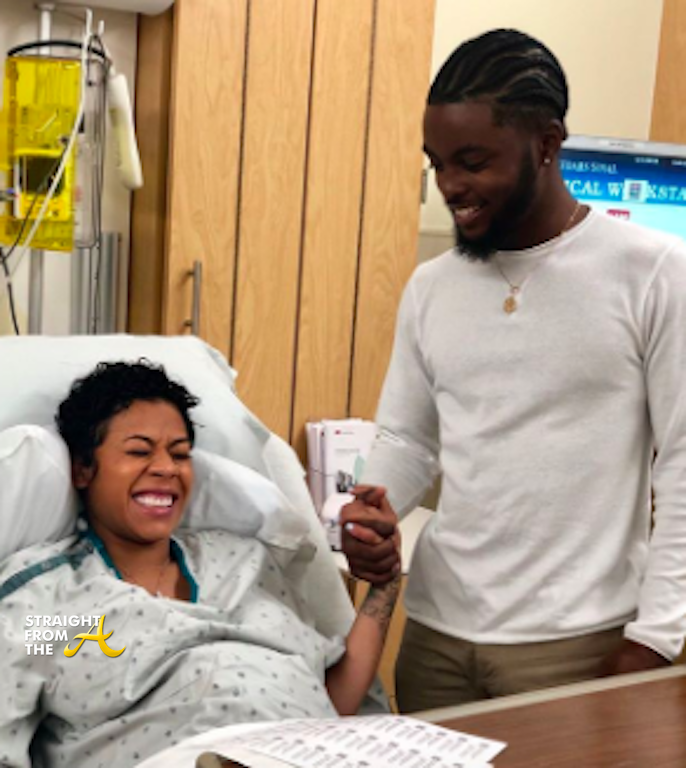 Keyshia Cole Gives Birth 2019 - Straight From The A [SFTA