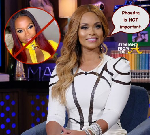 Giselle Bryant Speaks on Reconciling With Ex-Husband (Jamal Bryant) + SHADES Phaedra Parks For 'Mr. Chocolate' Rumors… (VIDEO) #WWHL