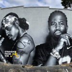 30-ft OUTKAST Mural in Atlanta's Little 5 Points Becomes Instant Tourist Attraction… (PHOTOS)