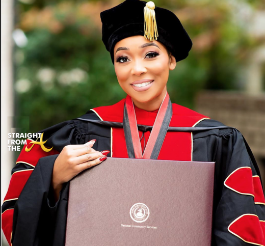 Monica Receives Honorary Doctrine for Humanitarian Work… (PHOTOS)