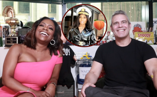 GIVE MARLO A PEACH!! #RHOA Kandi Burruss Grills Andy Cohen on Hampton's Peach Status… (VIDEO)