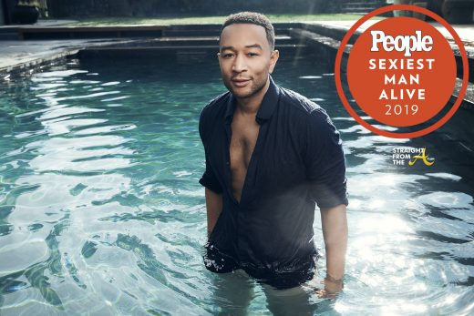 Wait… What?!? John Legend Is PEOPLE's Sexist Man Alive for 2019… (PHOTOS + VIDEO) #SexiestManAlive