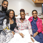 #RHOA Kandi Burruss & Todd Tucker Promote Surrogate's Baby Bearing Business… (VIDEO)