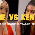 Nene Leakes vs. Kenya Moore! SPIT GATE!!! #RHOA Mid-Season 12 Trailer LIVE Review + Discussion