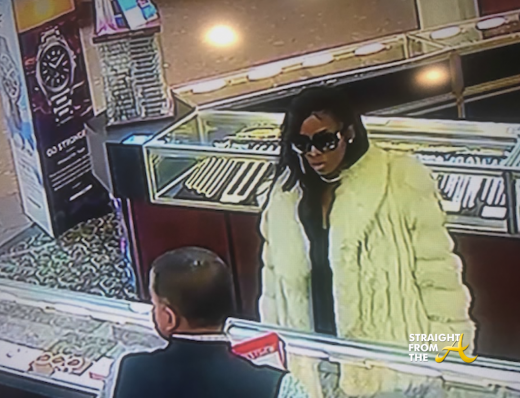 Disguised Woman Snatches Rolex Watch From Atlanta Jewelry Store… (VIDEO)
