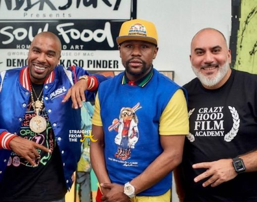 Floyd Mayweather Discusses Fighting T.I. Over Tiny Back in 2014… (VIDEO)