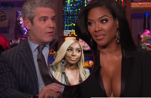 WhoSaidDat?!? Andy Cohen CHECKS Kenya Moore About Nene Leakes Gossip on 'Watch What Happens LIVE!'… (VIDEO)