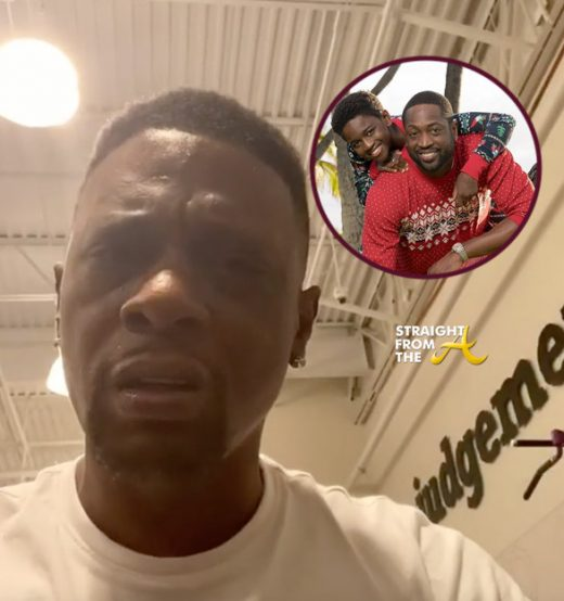"Boosie Badazz BANNED From Atlanta Gym After ""Transphobic"" Commentary About D. Wade's Child… (VIDEO)"
