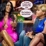 #RHOA Kenya Moore & Sherri Shepherd Exchange Shade! Who Won?! (VIDEO)